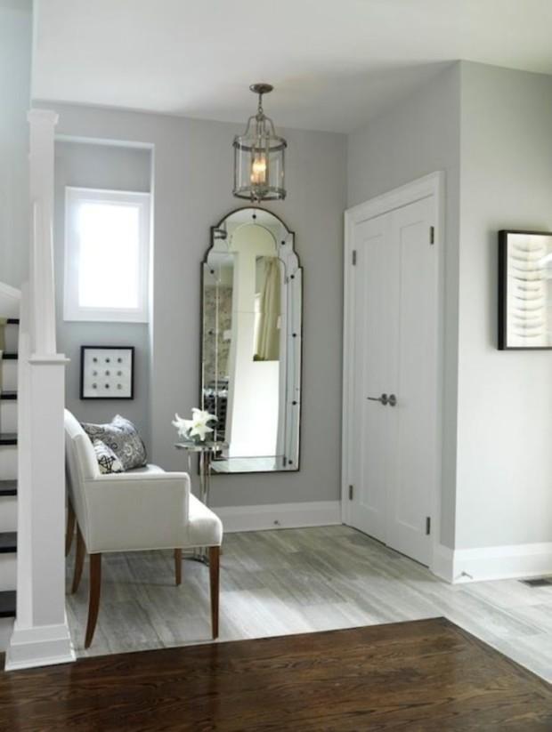 white entry decor ideas