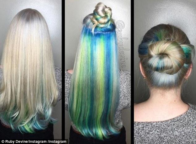 Hidden Rainbow Hair Color Ideas Our Motivations Art