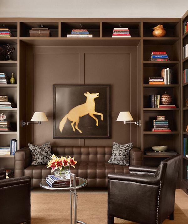 modern home library design ideas -ourmotivations.com