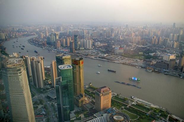 Shanghai_Huangpu_river_places to visit shanghai ,china