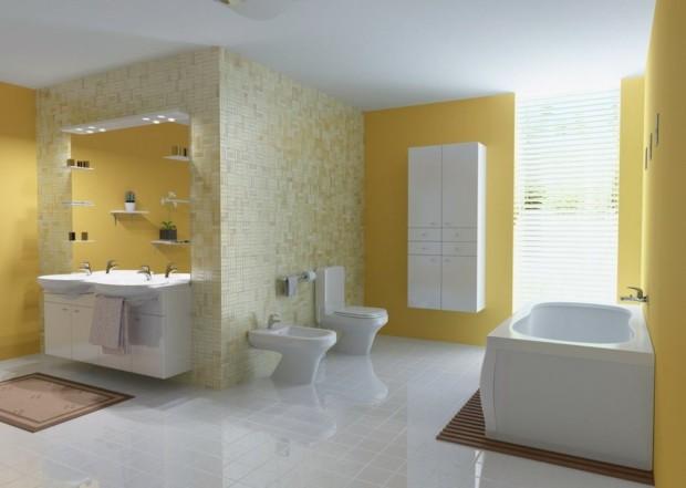 -Yellow-Bathroom