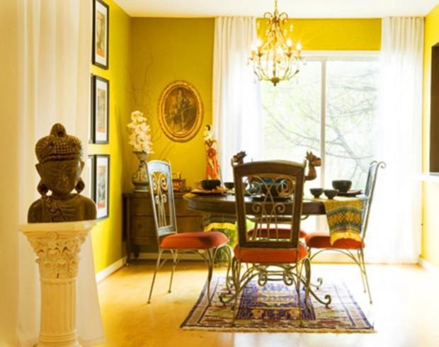 yellow interior design ideas 1