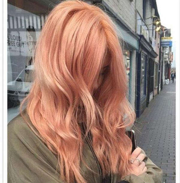 "HAIR COLOR TREND ALERT ""BLORANGE"""