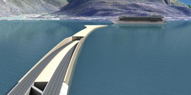 Norway-floating-bridge