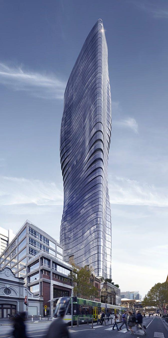 Skyscraper Inspired by Beyoncé Built in Melbourne 1