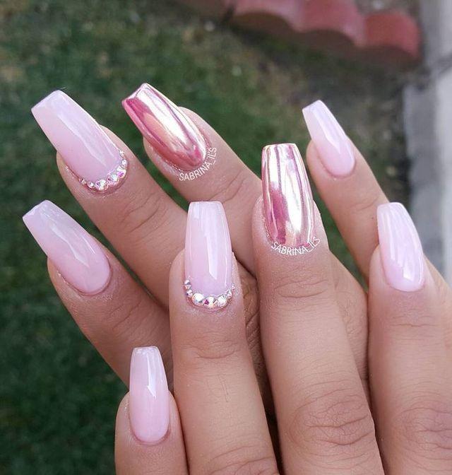 metallic nail designs 1