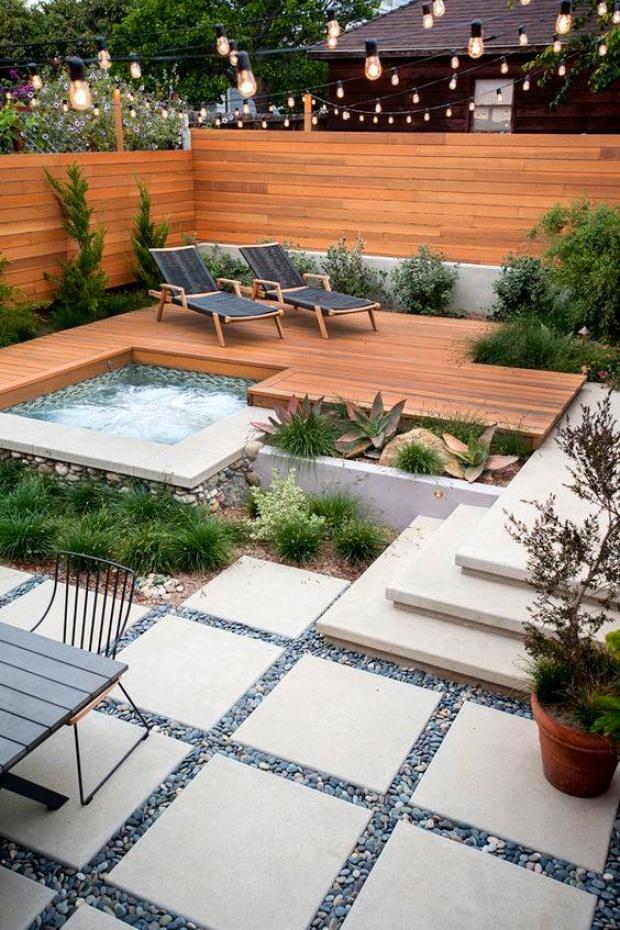 modern small backyard ideas 6