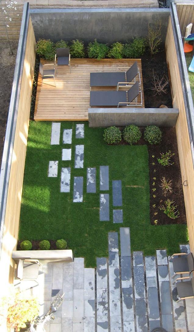 modern small backyard ideas