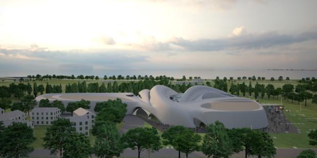 Futuristic Architecture- Jesolo Magica by Zaha Hadid Architects 1