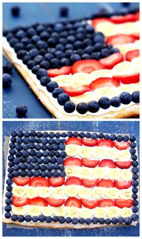 4th Of July Flag Fruit Dessert Our Motivations