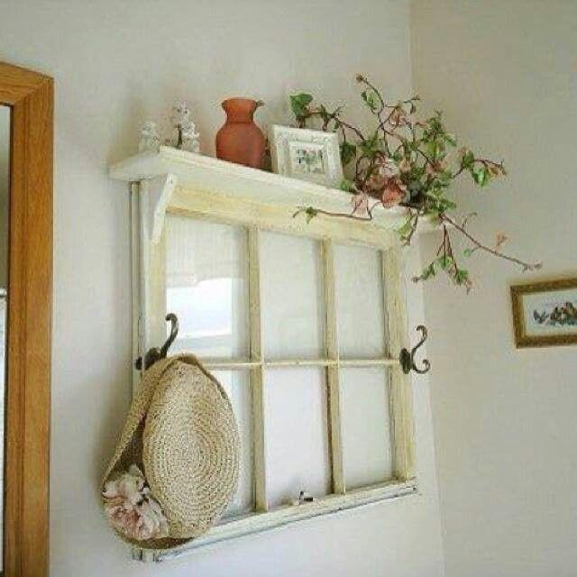 reuse old window frames ideas