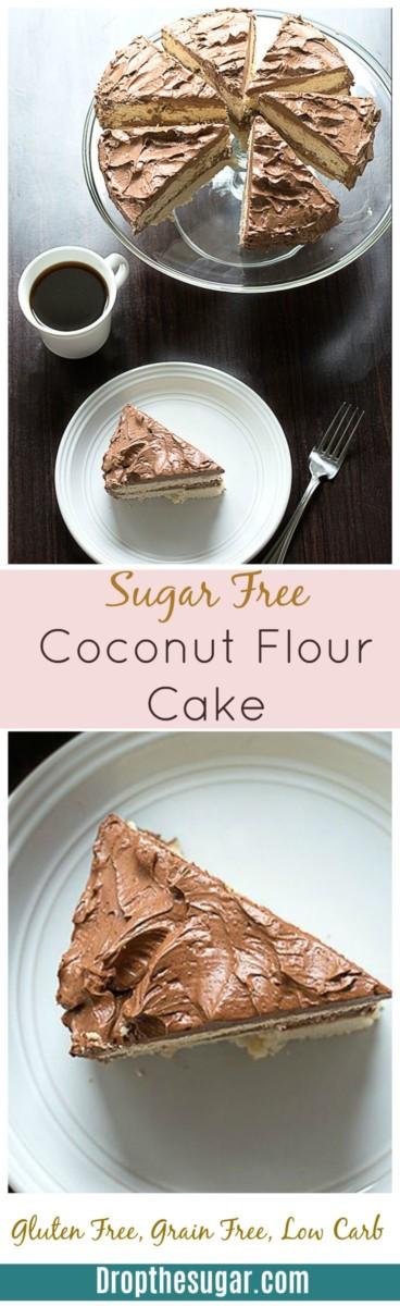 healthy coconut cake recipe